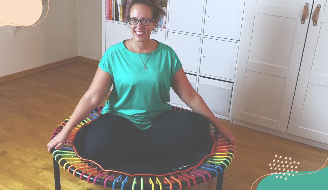 Sport mit Lipödem: Das bellicon Trampolin springen aus ayurvedischer Sicht